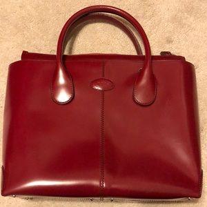 🎄SALE‼️Tod's red handbag